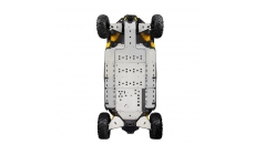 Lateral Central skid plate