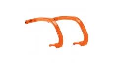 Snowmobile Ski Hoops - Orange