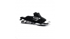 Switchback Snowmobile PRO-RIDE W/Rack Cover - Black