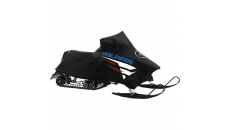 Premium Rush Snowmobile Poly Cover - Black