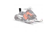 AXYS® X2 Snowmobile Seat Backrest - Black