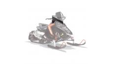 AXYS® Tall Snowmobile Windshield - Smoke