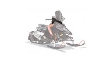 AXYS® Snowmobile Extra Tall Windshield - Smoke
