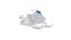 AXYS® Low Windshield- Blue/White