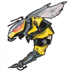 3D Techno Bee
